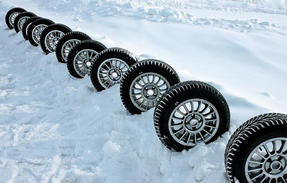 Выбираем зимние шины для совоего авто