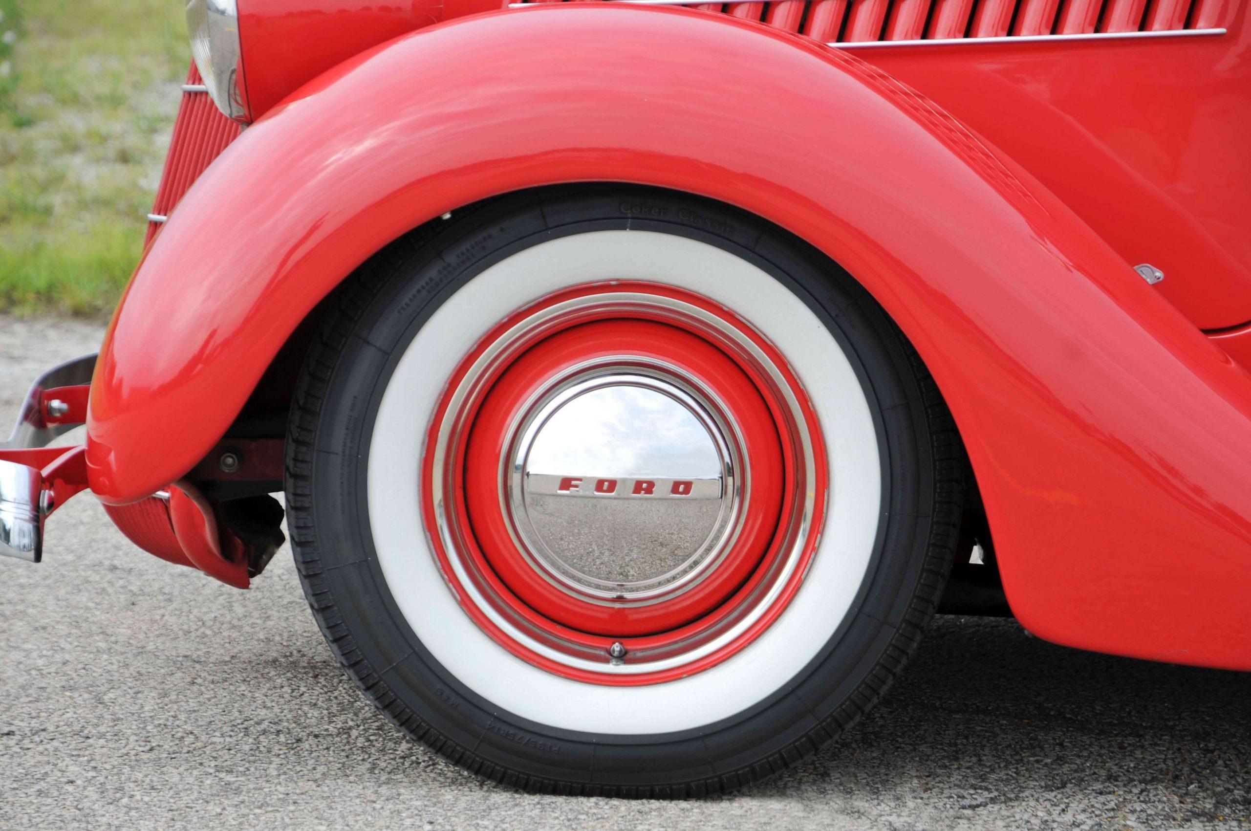 белые шины