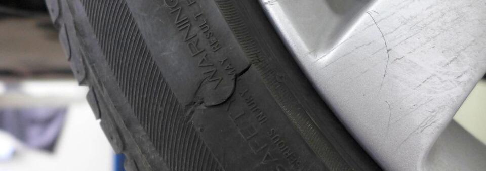 Ремонт боковых порезов шин или замена покрышки что нужно знать