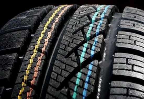 цветные линии на шине