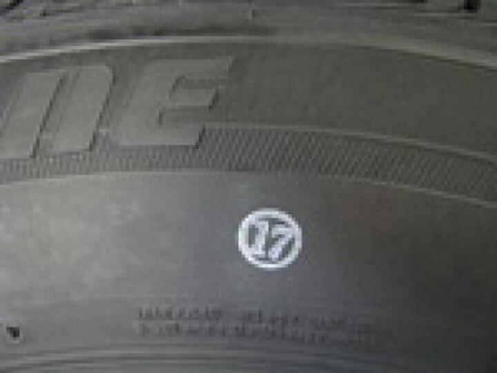 цветной штамп на шине
