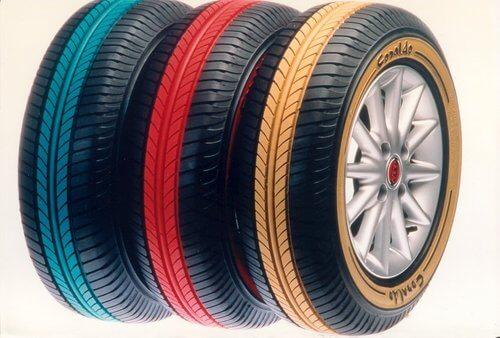 цветные шины