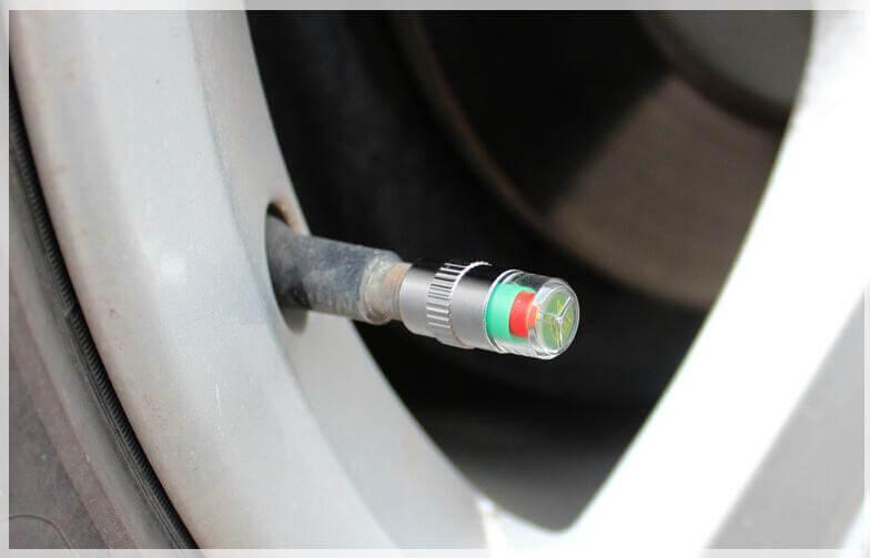 механический датчик давления в шинах