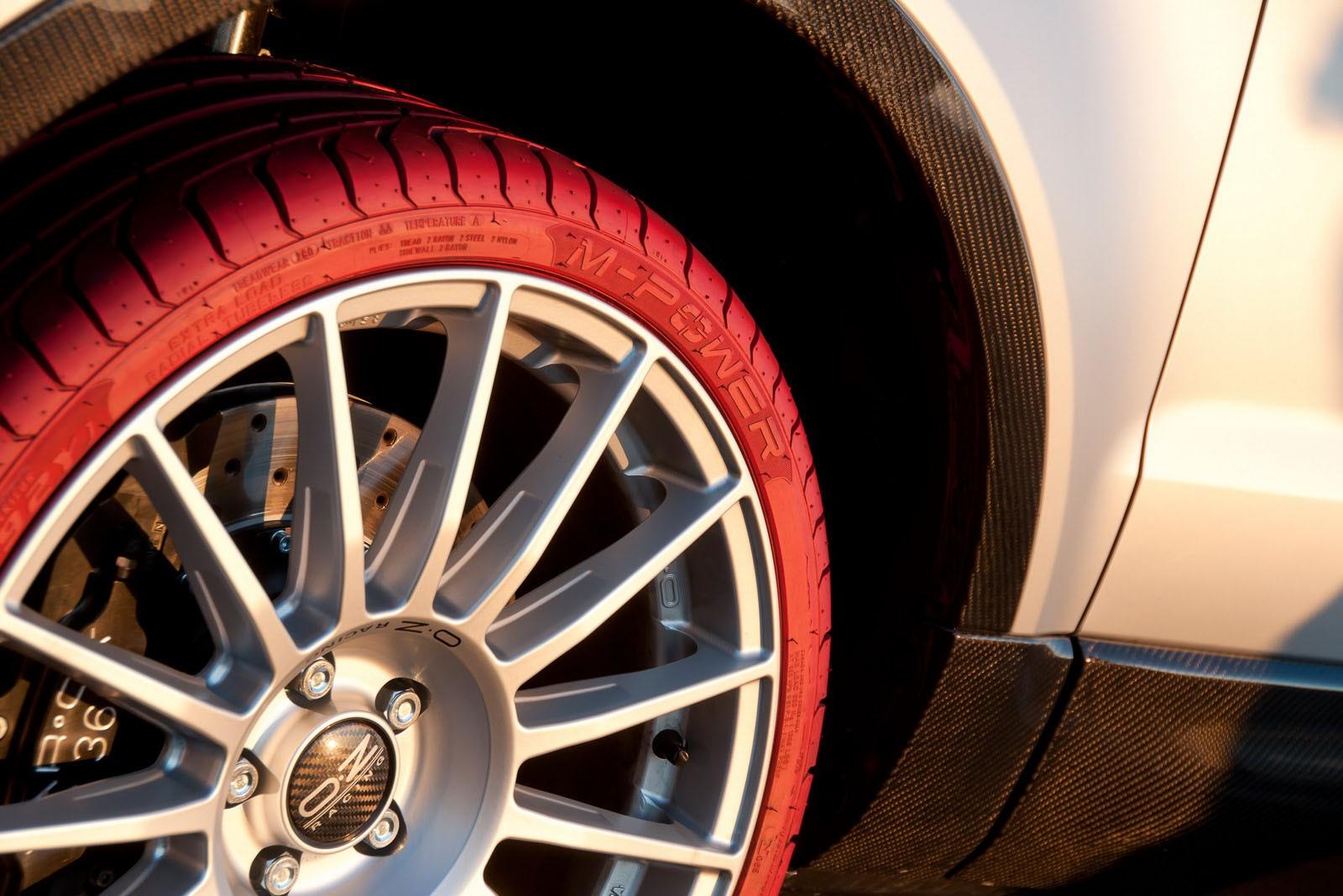 крашенные шины
