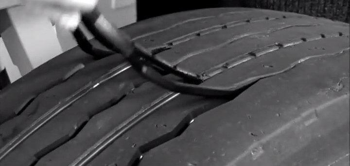 Машинка для нарезки протектора шин своими руками